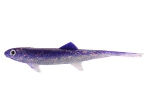 Guma DAM EFFZETT - SPLIT TAIL 140mm - Purple Haze / SB=5