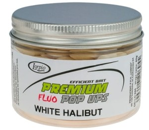 KULKI POP-UPS HALIBUT WHITE 16mm