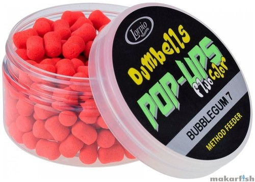 Przynęta lorpio Dumbells 7 Pop-Up Bubblegum 50g.jpg