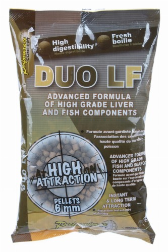 Pellet Starbaits Duo LF Pellets Mix 700g 6mm